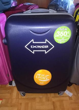 Дешевле только у нас большой чемодан бренд wings валіза сумка на колесах