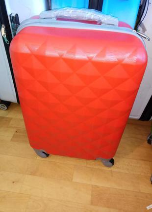 Ромбик дешевле только у нас маленький чемодан бренд wings валіза сумка на колесах