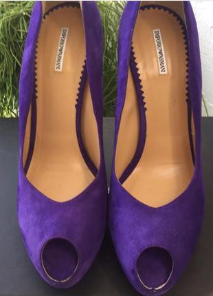 Туфли emporio armani, оригинал 100%
