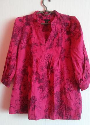 Красивая блуза бохо 8\10 роз