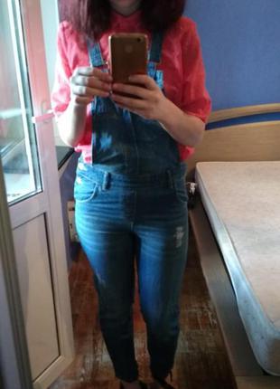 Sale до конца месяца  цена 465 грн джинсовый комбинезон waikiki