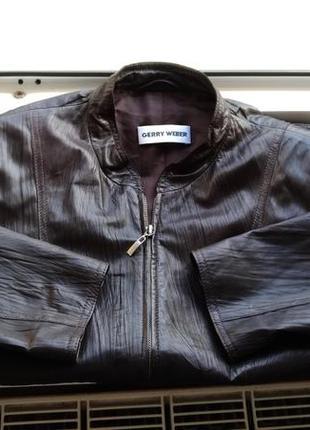 Кожаная куртка garry weber