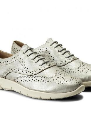 Летний туфли caprice германия, оригинал. натуральная кожа. 37, 39