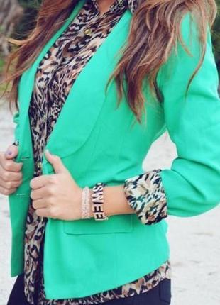 Блейзер-пиджак next на 10 лет яркий стильный модный