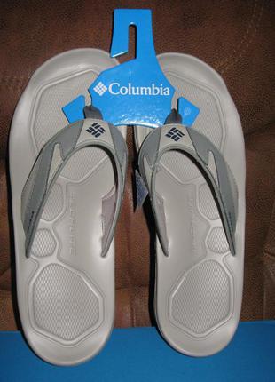 Columbia шлепанцы оригинал из сша р. 45