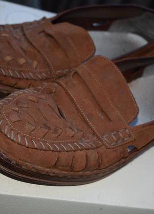 Кожаные босоножки сандали летние туфли риекер антистресс германия р.44
