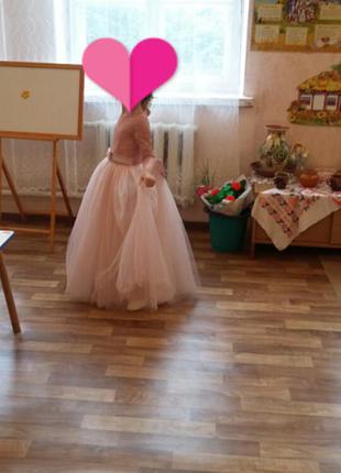 Шикарное выпускное платье.5 фото