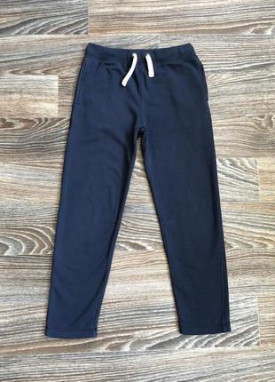 Мужские синие хлопковые спортивные штаны от marks&spencer (m&s)
