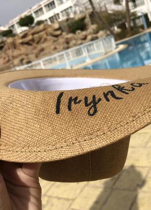 Дизайнерская летняя шляпа2
