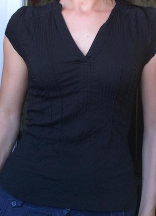 Чёрная блуза от h&m
