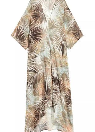 Пляжное платье, накидка, туника от h&m с карманами