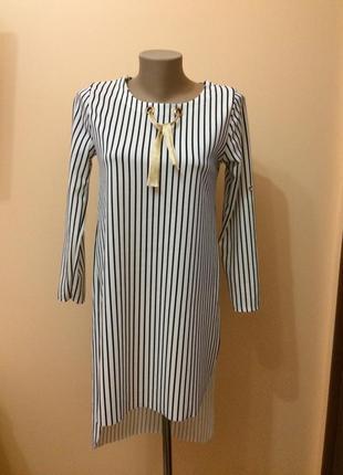 Платье -туника женская стильная модель