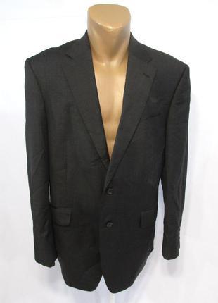 Пиджак m&s sartorial, 40in, mediun, серый, шерсть, как новый!