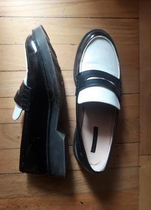 Оксфорды трендовые туфли zara