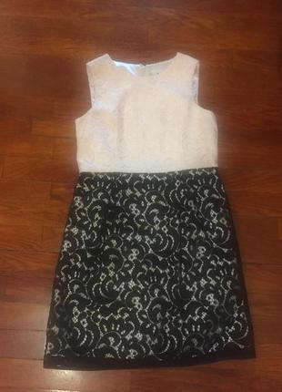 Красивейшее платье, гипюр, ф-мы millyп-ль usa, 12 лет