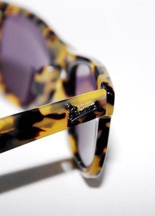 Новые солнцезащитные очки унисекс роговая оправа reason clothing - commander ii sunglasess
