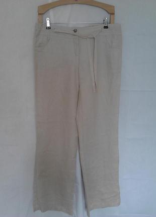 Классные льняные штаны