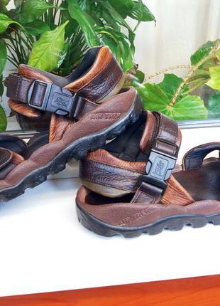 """Очень комфортные кожаные сандалии """"clarks"""", англия! 45 р."""