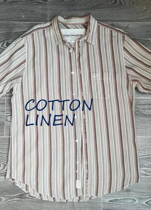 Легкая , классная( натуральный материал) рубашка