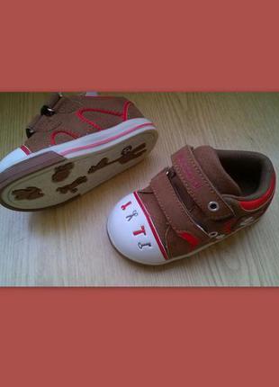 Детские ботинки мокасины размеры 22, 23 t.taccardi