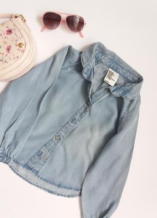 Джинсова сорочечка від h&m