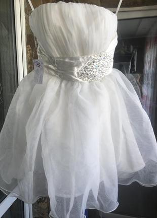Платье вечернее, на выпуск, свадебное