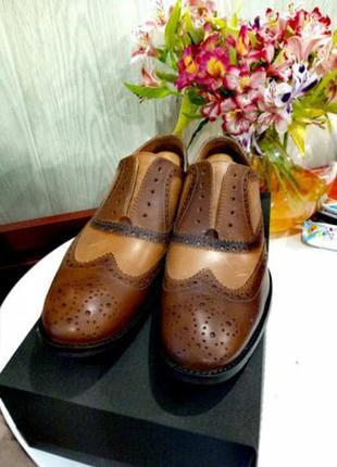 Кожаные туфли броги от (asos).
