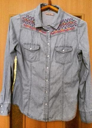 Рубашка джинсовая cache cache