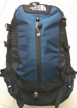 Рюкзак the north face туристический 40 л. цвет темно синий. распродажа.