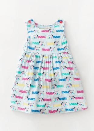 Платье для девочки dogs от little maven