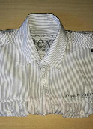 Рубашка next с коротким рукавом