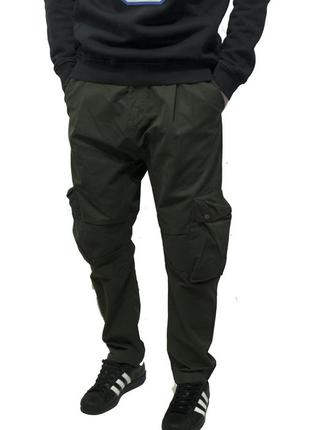 Оригинал штаны карго adidas originals badlander cargo pants in green