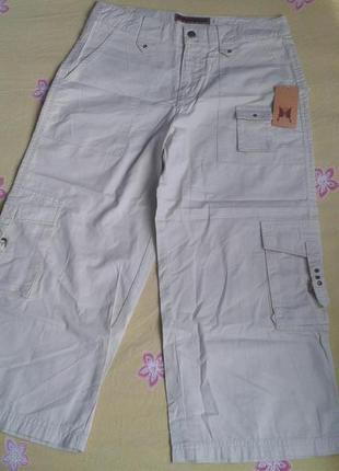Брендові бріджі джинсові жіночі birabira xs (брюки джинсы женские)