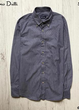 Мужская рубашка massimo dutti - премиум класс!