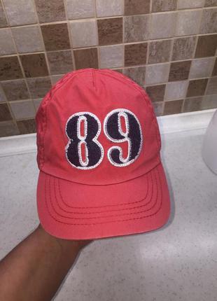 Хлопковая кепка бейсболка mothercare на 6-8 лет рост 128 см.