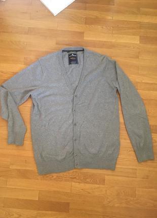 Сірий кардиган tom tailor