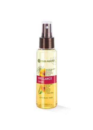 Двухфазный спрей для блеска волос «жизненная сила и блеск»