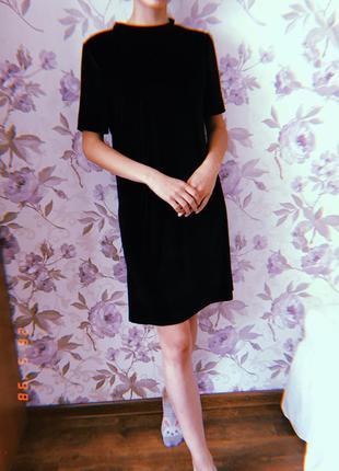 Велюрове плаття від terranova