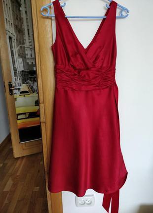 Плаття, платье 55% шовк, 45% котон