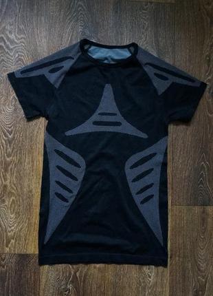 Спортивная футболка компрессионная зональная crivit