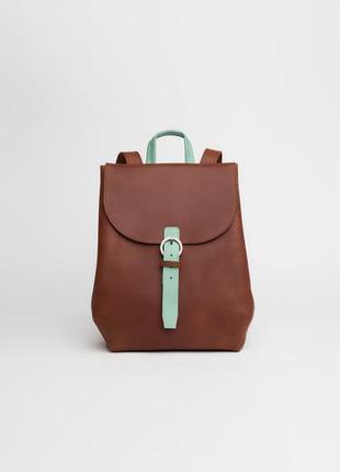 """Кожаный рюкзак для 13"""" ноутбука"""