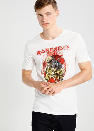 Фирменная футболка iron maiden