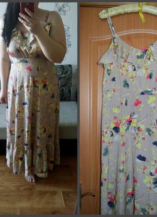 Длинное платье, р. 16