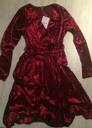 Бархатное платье new collection