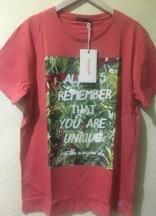 Кораловая футболка р.xl glo-story
