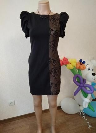 Коктейльное платье f&f