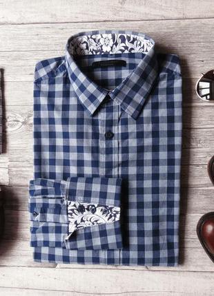 Стильная мужская рубашка jack & jones premium