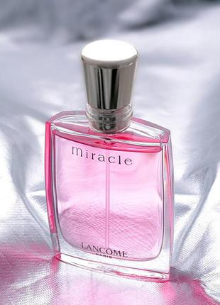 Miracle lancome,винтаж,миниатюра,парфюмерная вода