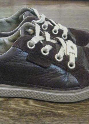 Кожаные кеды (кроссовки)россовки crocs р с 12