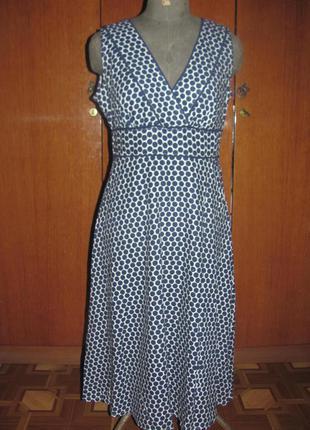 Льняное платья, платье сарафан миди f&f